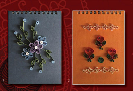 ways to craft with paper quilling