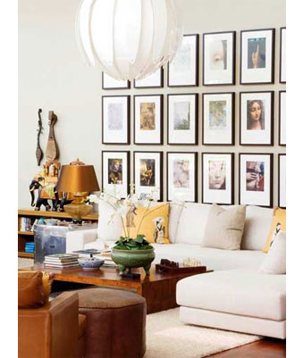 Ways to display art and photographs