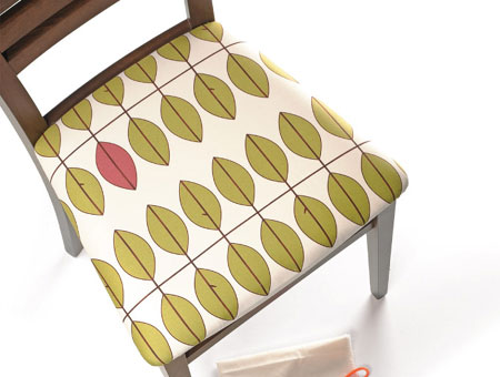 How to cover dining chairs