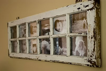 Home Dzine Craft Ideas Old Or Reclaimed Window Frames