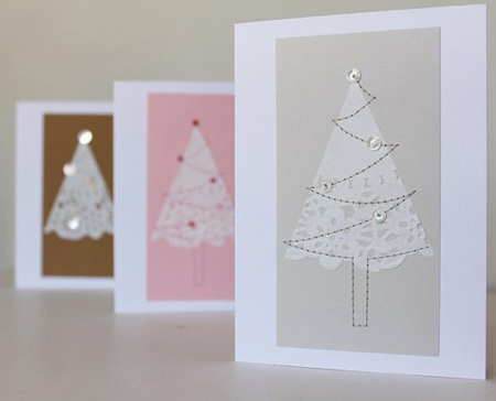 Home dzine craft ideas easy ideas for greeting cards for Christmas card ideas to make at home