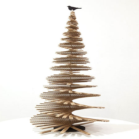 HOME DZINE Crafts And Hobbies Alternative And Recycled Christmas - Eco Friendly Christmas Tree