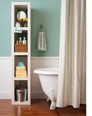 Ideas for bathroom shelves freestanding cabinet