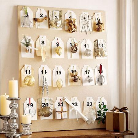 Home Dzine Crafts And Hobbies How To Make An Advent Calendar