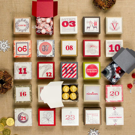 Home Dzine Crafts And Hobbies How To Make An Advent Calendar