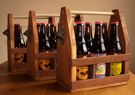 Make a DIY beer caddy
