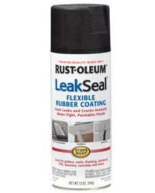how to apply rust oleum leak seal. Black Bedroom Furniture Sets. Home Design Ideas