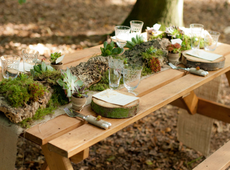 Home Dzine Garden Simple Ideas For Table Settings