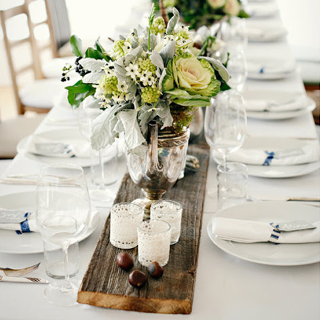 Simple ideas for table settings