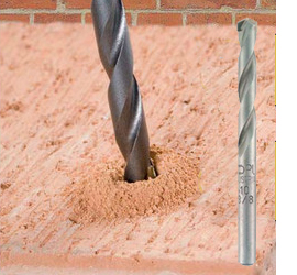 How to drill a hole into masonry or brick walls
