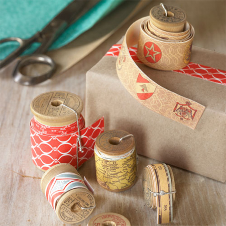 Make your own decorative wrapping tape