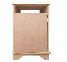 HOME DZINE Home DIY | DIY Bedside Cabinet