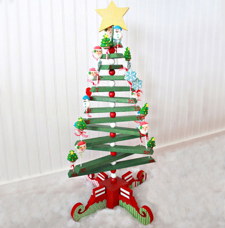Home Dzine Craft Ideas Diy Wooden Christmas Tree
