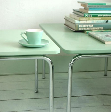 Decorating with mint green