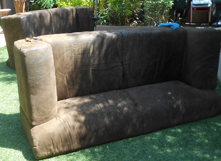 repair fix lounge suite couch sofa