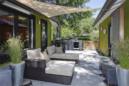Roof options for a patio