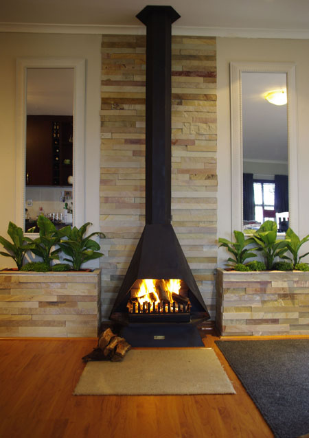 Home Dzine Home Improvement Install And Dress Up A Fireplace