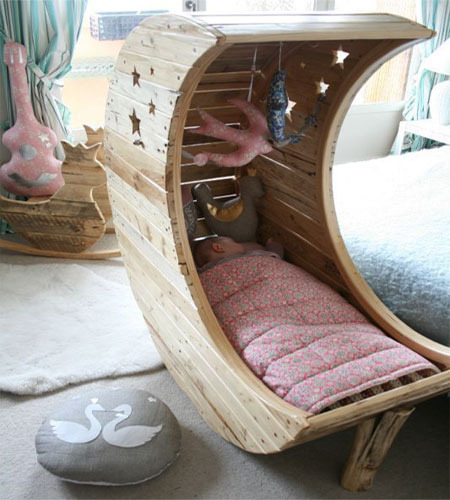 Home Dzine Bedrooms Make A Beautiful Moon Crib Or Bed
