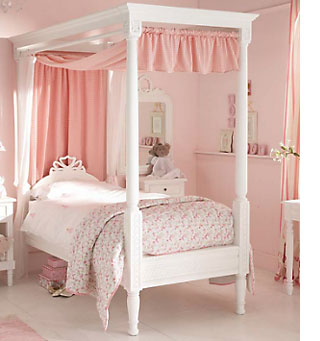 Home Dzine Bedrooms Beautiful Bedroom For A Little Lady