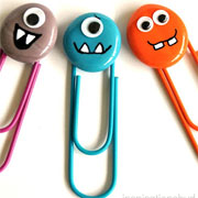 Monster paper clips