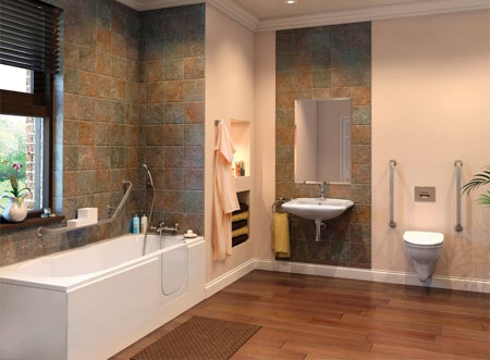 Home Dzine Bathrooms A Bathroom That Is Safe And Accessible