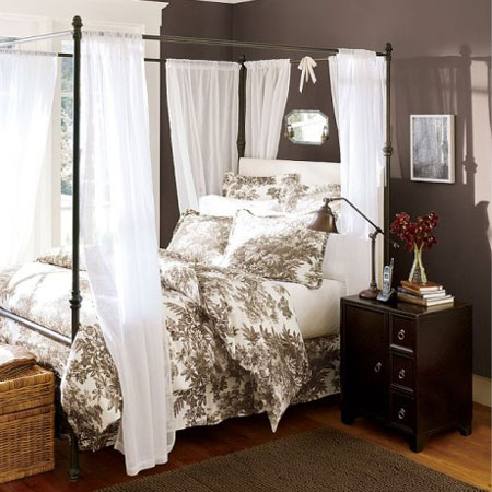 Home Dzine Bedrooms Beautiful 4 Post Bed Designs