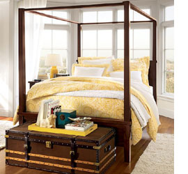 Romantic Four Poster Beds home dzine bedrooms | beautiful 4-post bed designs