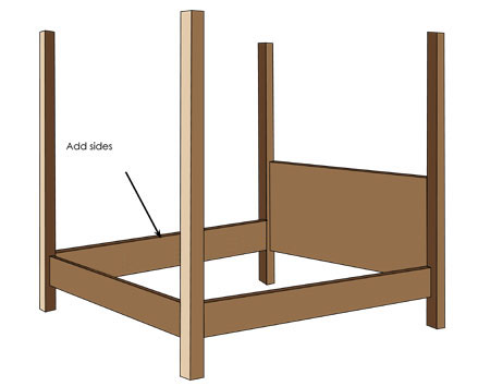 instructions 4-poster bed