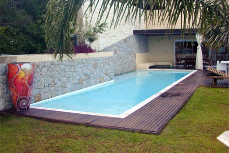 The property circle for Home swimming pool dimensions