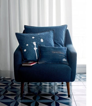 Home Dzine Home Decor Denim Decor In A Home