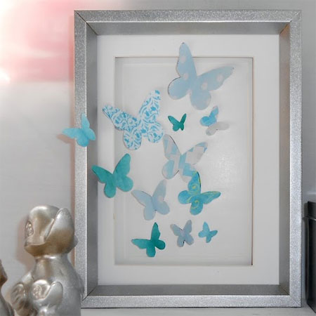 Paper craft butterflies