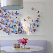 Papercraft butterfly art