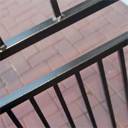 Paint security gates, burglar bars, rails and fencing