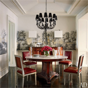A sneak peak at celebrity dining rooms