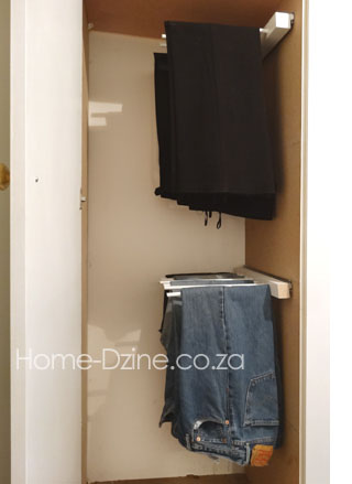 HOME DZINE Home DIY | DIY trouser hanging rack