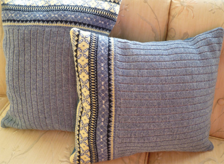 Beautiful ideas to upcycle an old sweater