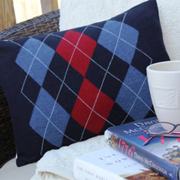 Beautiful ideas for sweater cushion covers
