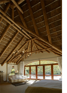 thatch roof interior