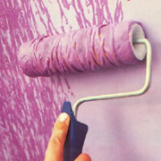 Get creative with a paint roller