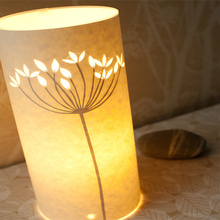 how to make table lamp at home with paper