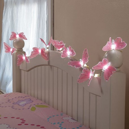 HOME DZINE Home Decor Use Fairy Lights Or String Lights In New Ways - How to use fairy lights in bedroom