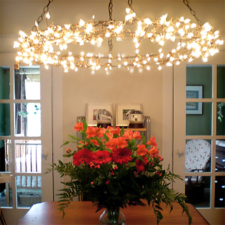 HOME DZINE Home Decor Use Fairy Lights Or String In New Ways