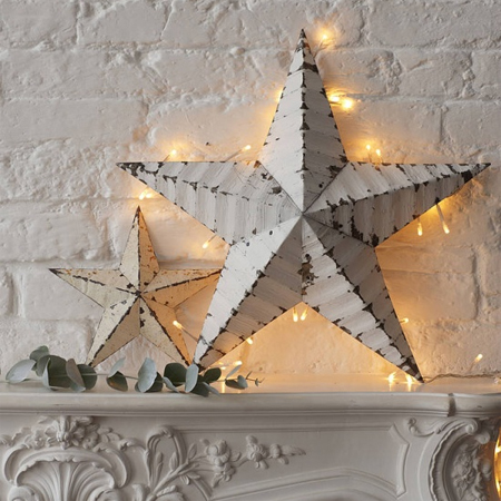 fairy string lights stars home decor display