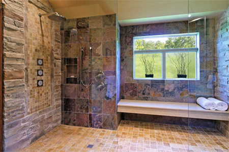 Dated Bathroom Renovated Remodelled Wet Room