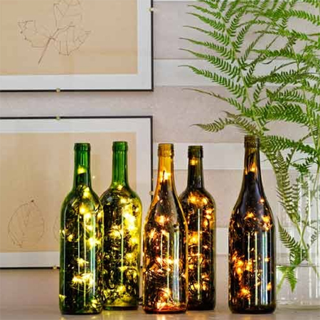 Home Dzine Home Decor Use Fairy Lights Or String Lights