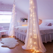 Unique ways to use LED fairy lights