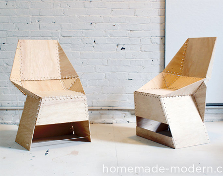 Home Dzine Home Diy How To Make These Plywood Chairs