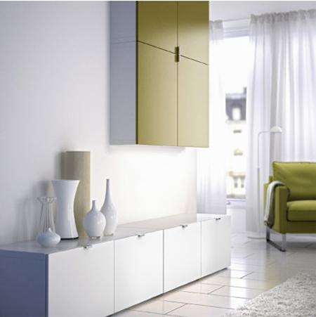 Home dzine home diy ikea living room storage options you can make for Ikea storage living room furniture