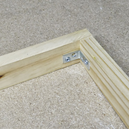 4. Assemble the top frame