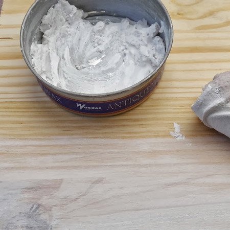 Make your own liming wax